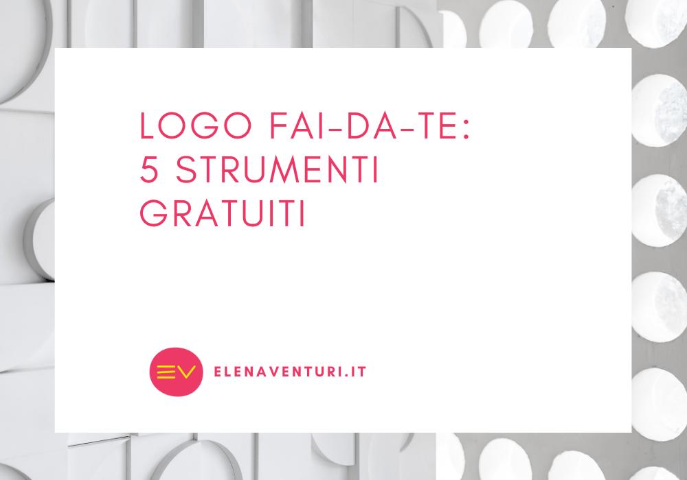 Logo fai-da-te: 5 strumenti gratuiti